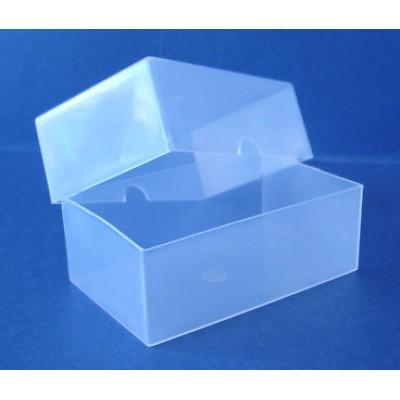 Clear Plastic Blank Flash Card Box (95x60x35mm)