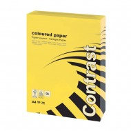 A4 Vibrant Yellow Card 160gsm (250 Sheets)