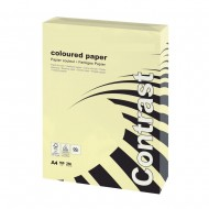 A4 Yellow Card 160gsm (250 Sheets)