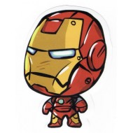 Marvel Iron Man Big Head Sticker