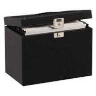 Pierre Henry Metal File Box A4 (Black)