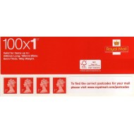 1st Class Stamps x 100 (Self Adhesive Stamp Sheet)