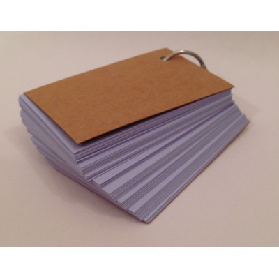 Blank Key Ring 100 Pages 160gsm (54x90mm) - Lilac