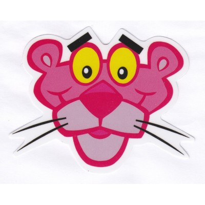 The Pink Panther Head Sticker