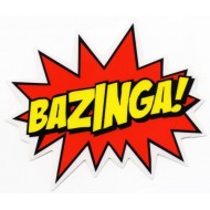Bazinga! Burst Big Bang Theory Sticker