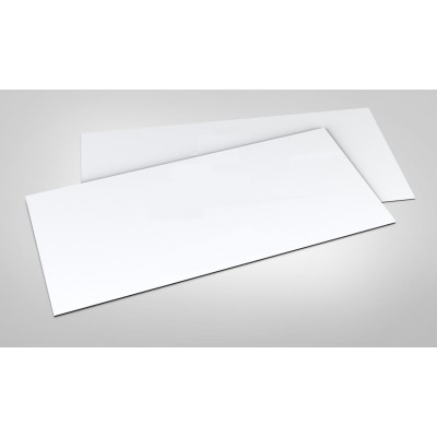 100gsm White Blank Compliment Slips DL 99x210mm (1500 Sheets)