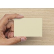 100 Blank Cream Flash Cards 160gsm (54x90mm)
