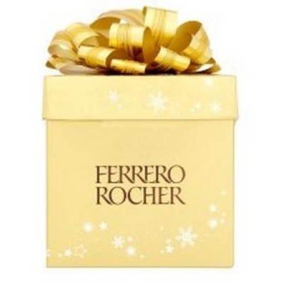 Ferrero Rocher Special Golden Gift Cube 225g, 18 Pieces